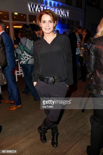 German actress Anja Kling attends the 'Baltic Lights' charity event on March 10 2017 in Heringsdorf Germany Every year German actor Till Demtroder...