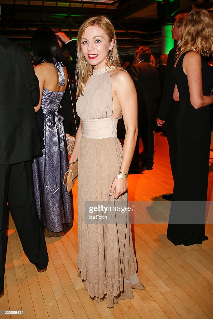 German actress Anna Ewelina during the Green Tec Award After Show Party at ICM Munich on May 29, 2016 in Munich, Germany.