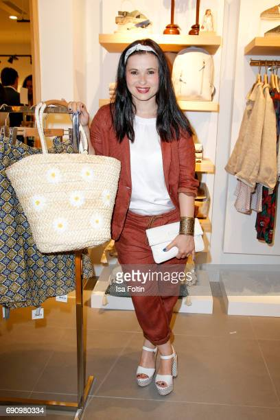 German actress Anna Fischer attends the Yargici Flagship Store Opening at Levantehaus on May 31 2017 in Hamburg Germany