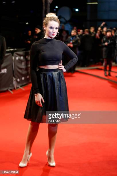 German actress Anna Hofbauer attends the European premiere of 'Fifty Shades Darker' at Cinemaxx on February 7 2017 in Hamburg Germany