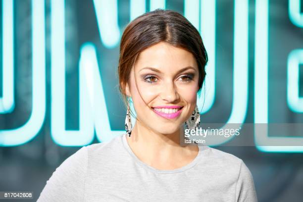 German actress Anna Julia Kapfelsperger attends the 'Atomic Blonde' World Premiere at Stage Theater on July 17 2017 in Berlin Germany