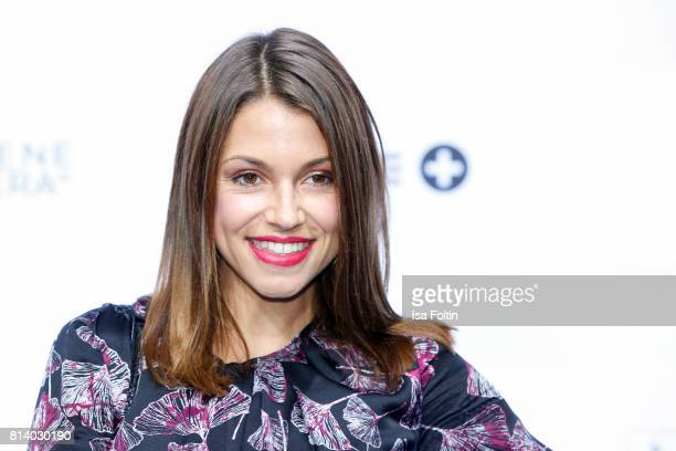 German actress Anna Julia Kapfelsperger attends the summer party 2017 of the German Producers Alliance on July 12 2017 in Berlin Germany