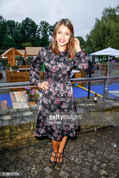 German actress Anna Julia Kapfelsperger during the summer party 2017 of the German Producers Alliance on July 12 2017 in Berlin Germany