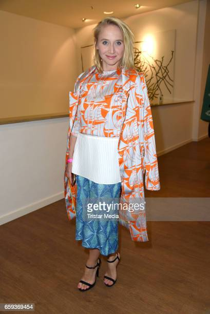 German actress Anna Maria Muehe attends the BIDI BADU by Kilian Kerner Presentation at Ellington Hotel on March 28 2017 in Berlin Germany
