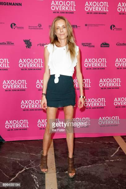 German actress Anna von Auersperg attends the 'Axolotl Overkill' Berlin Premiere at Volksbuehne RosaLuxemburgPlatz on June 21 2017 in Berlin Germany