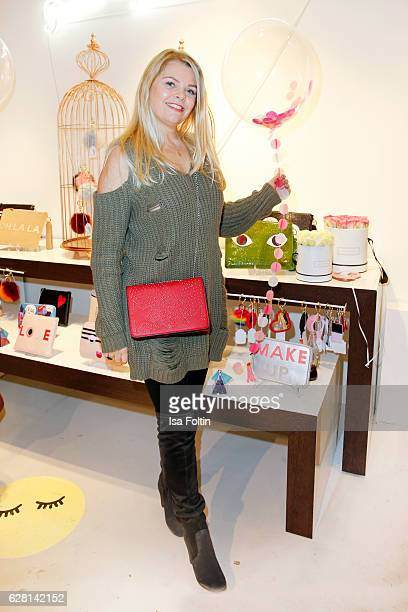 German actress AnneSophie Briest attends the Iphoria store opening on December 6 2016 in Berlin Germany