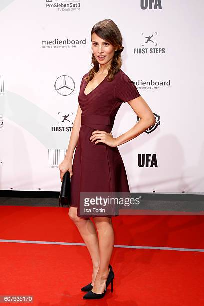 German actress Aylin Tezel attends the First Steps Awards 2016 at Stage Theater on September 19 2016 in Berlin Germany