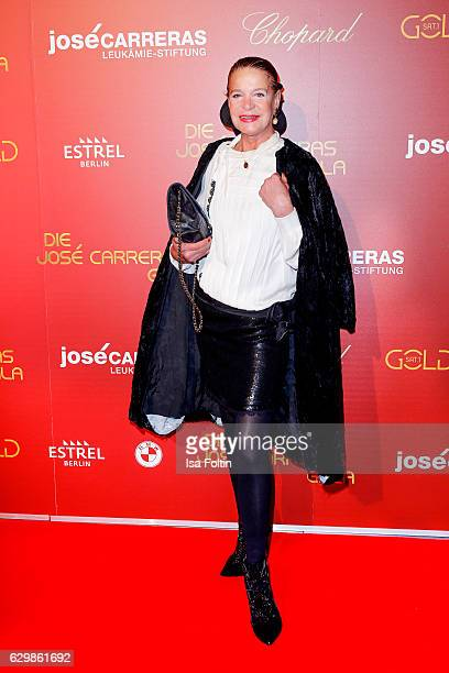German actress Barbara Engel attends the 22th Annual Jose Carreras Gala on December 14 2016 in Berlin Germany