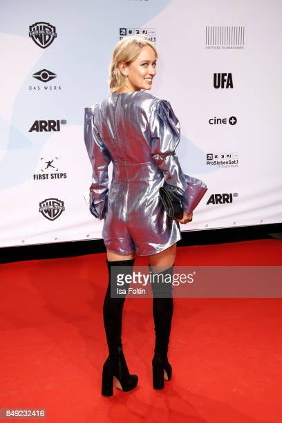 German actress Caro Cult attends the First Steps Awards 2017 at Stage Theater on September 18 2017 in Berlin Germany