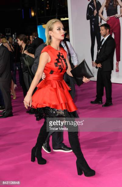 German actress Caro Cult attends the 'High Society' Premiere at CineStar on September 5 2017 in Berlin Germany