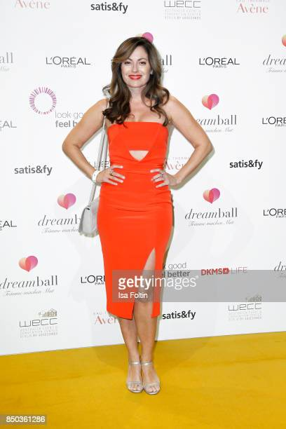 German actress Carolina Vera attends the Dreamball 2017 at Westhafen Event Convention Center on September 20 2017 in Berlin Germany