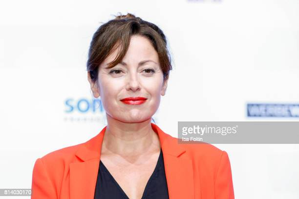 German actress Carolina Vera attends the summer party 2017 of the German Producers Alliance on July 12 2017 in Berlin Germany