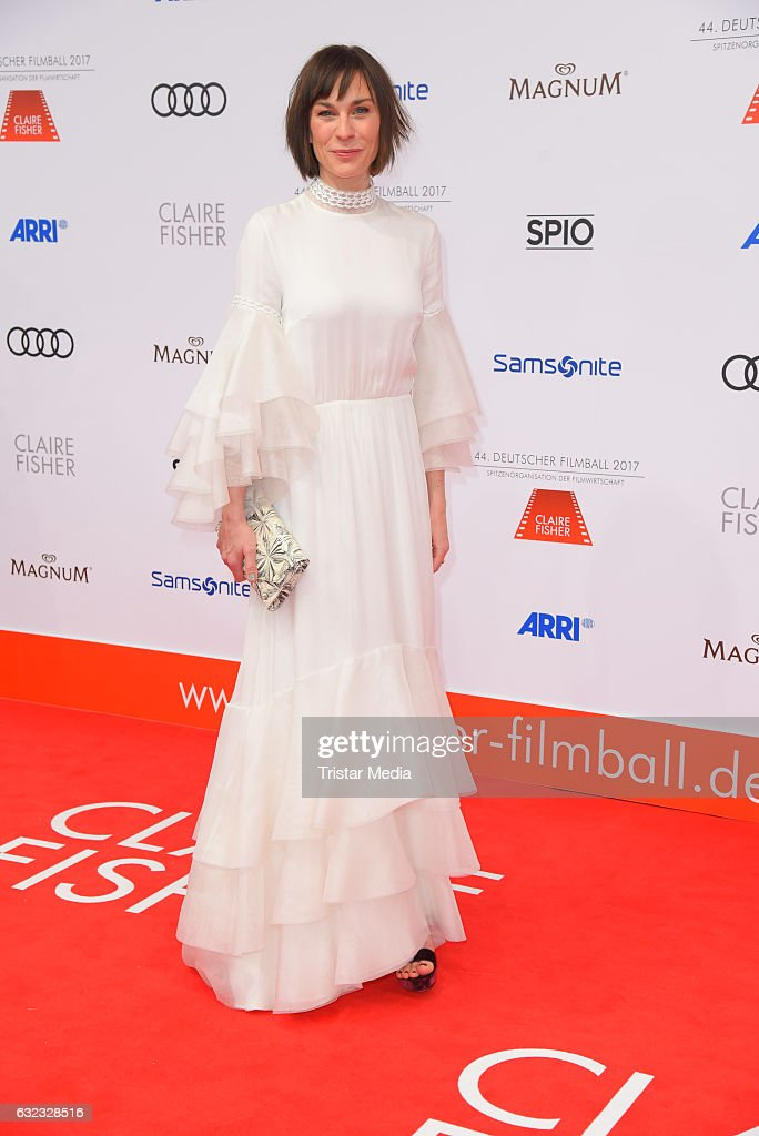 German actress Christiane Paul attends the German Film Ball 2017 at Hotel Bayerischer Hof on January 21, 2017 in Munich, Germany.