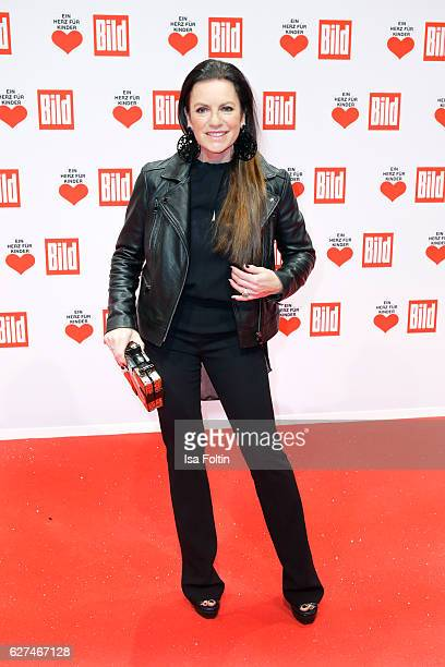 German actress Christine Neubauer attends the Ein Herz Fuer Kinder gala on December 3 2016 in Berlin Germany