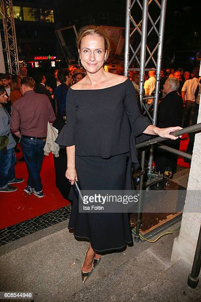 German actress Claudia Michelsen attends the First Steps Awards 2016 at Stage Theater on September 19 2016 in Berlin Germany