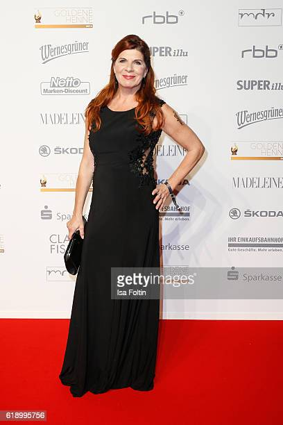 German actress Claudia Wenzel attends the Goldene Henne on October 28 2016 in Leipzig Germany