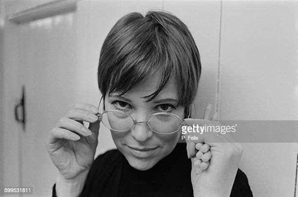 German actress dancer and artist Christiane Kubrick the wife of filmmaker Stanley Kubrick 9th November 1967