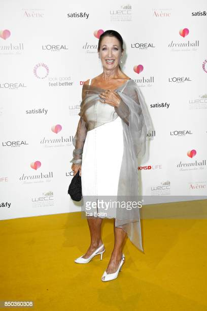 German actress Daniela Ziegler attends the Dreamball 2017 at Westhafen Event Convention Center on September 20 2017 in Berlin Germany