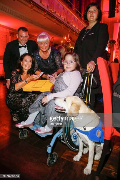 German actress Daniela Ziegler with a VitaTeam and guests attend the 8th VITA Charity Gala on October 28 2017 in Wiesbaden Germany