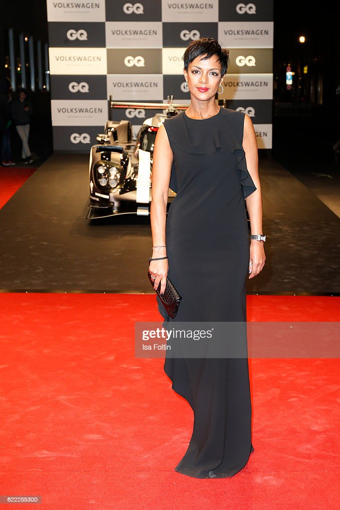 German actress Dennenesch Zoude attends the GQ Men of the year Award 2016 (german: GQ Maenner des Jahres 2016) at Komische Oper on November 10, 2016 in Berlin, Germany.