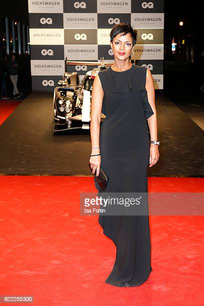 German actress Dennenesch Zoude attends the GQ Men of the year Award 2016 at Komische Oper on November 10 2016 in Berlin Germany