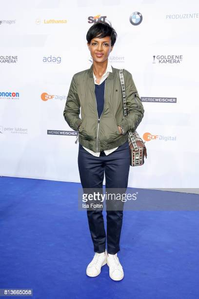 German actress Dennenesch Zoude attends the summer party 2017 of the German Producers Alliance on July 12 2017 in Berlin Germany