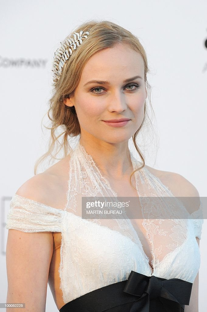 German actress Diane Kruger poses while