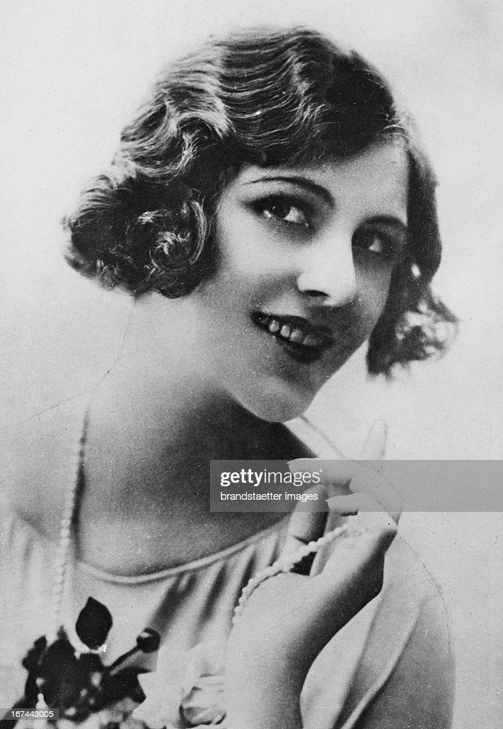 German actress Elisabeth Strickrodt (1903-1971). 1929. Photograph. (Photo by Imagno/Getty Images) Die deutsche Schauspielerin Elisabeth Strickrodt (19031971). 1929. Photographie.