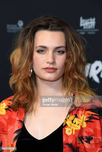 German actress Ella Rumpf attends the premiere of the film 'Tiger Girl' at Zoo Palast on March 20 2017 in Berlin Germany