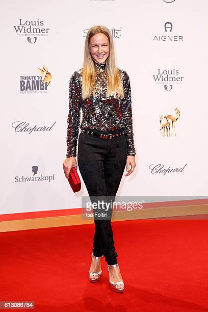 German actress Esther Seibt attends the Tribute To Bambi at Station on October 6 2016 in Berlin Germany