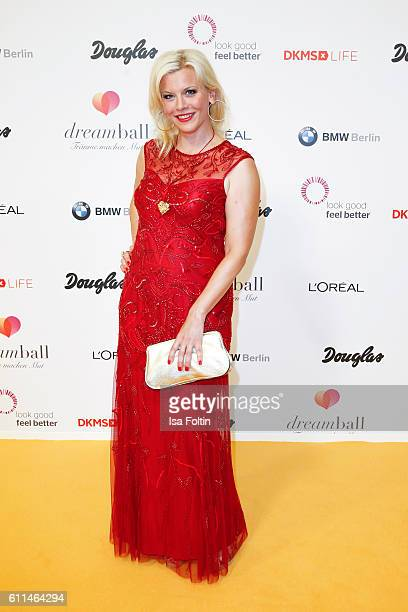 German actress Eva Habermann attends the Dreamball 2016 at Ritz Carlton on September 29 2016 in Berlin Germany