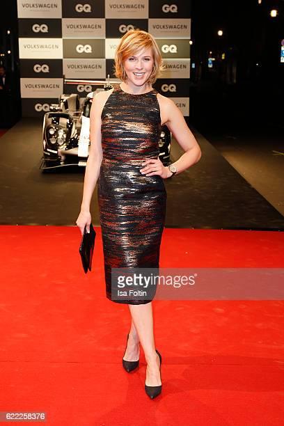 German actress Franziska Weisz attends the GQ Men of the year Award 2016 at Komische Oper on November 10 2016 in Berlin Germany