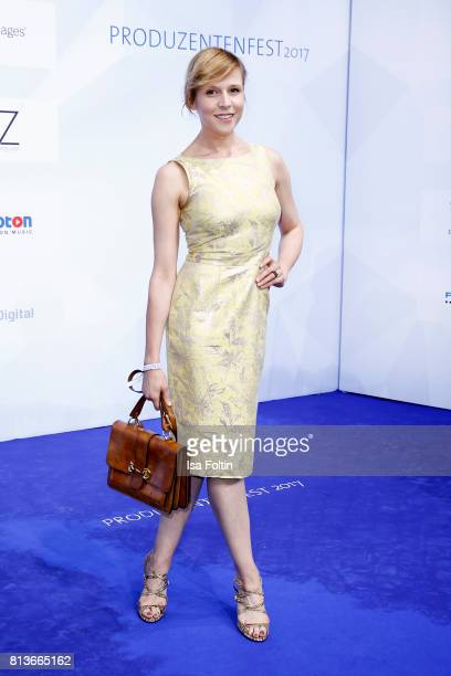 German actress Franziska Weisz attends the summer party 2017 of the German Producers Alliance on July 12 2017 in Berlin Germany