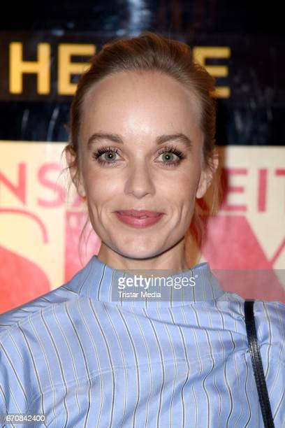 German actress Friederike Kempter attends the screening of the film 'Einsamkeit und Sex und Mitleid' on April 20 2017 in Berlin Germany