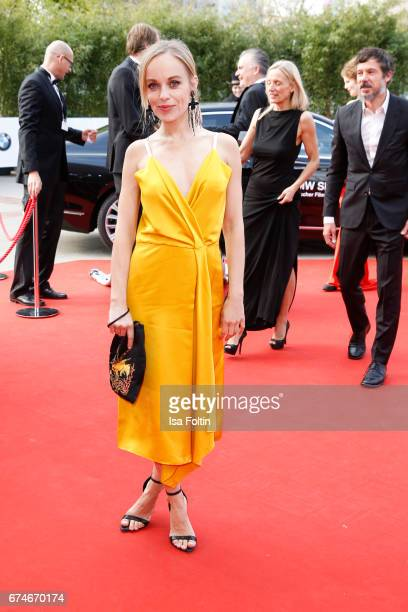 German actress Friederike Kempter during the Lola German Film Award red carpet arrivals at Messe Berlin on April 28 2017 in Berlin Germany