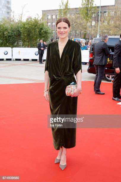 German actress Fritzi Haberlandt during the Lola German Film Award red carpet arrivals at Messe Berlin on April 28 2017 in Berlin Germany