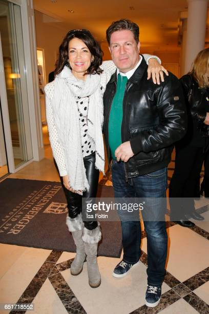 German actress Gerit Kling and german actor Francis Fulton Smith attend the 'Baltic Lights' charity event on March 10 2017 in Heringsdorf Germany...