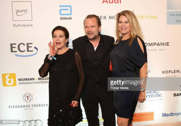 German actress Hannelore Elstner Sebastian Knauer and his wife Dorothee Knauer attend the Charity Evening 'Das kleine Herz im Zentrum' at Curio Haus...