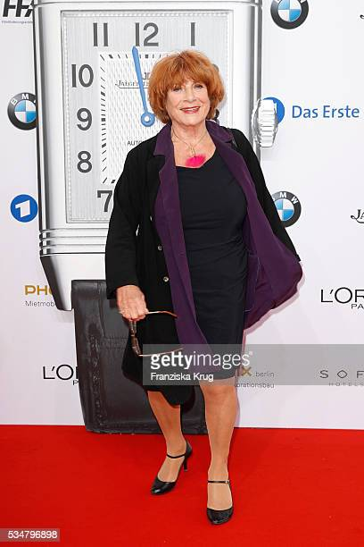 German actress Hannelore Hoger during the Lola German Film Award 2016 on May 27 2016 in Berlin Germany