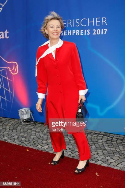German actress Ilona Gruebel attends the Bayerischer Fernsehpreis 2017 at Prinzregententheater on May 19 2017 in Munich Germany