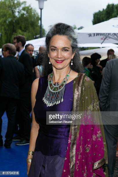 German actress Irina Wanka attends the summer party 2017 of the German Producers Alliance on July 12 2017 in Berlin Germany