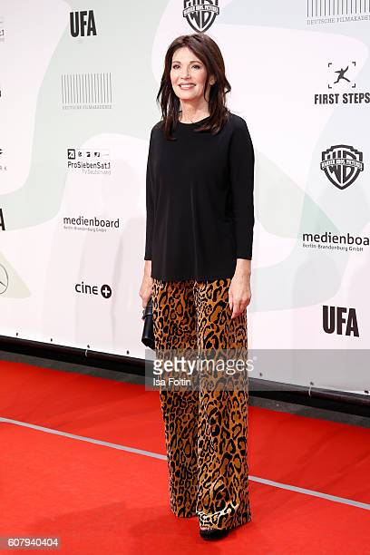 German actress Iris Berben attends the First Steps Awards 2016 at Stage Theater on September 19 2016 in Berlin Germany