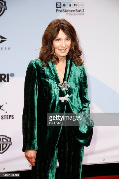 German actress Iris Berben attends the First Steps Awards 2017 at Stage Theater on September 18 2017 in Berlin Germany