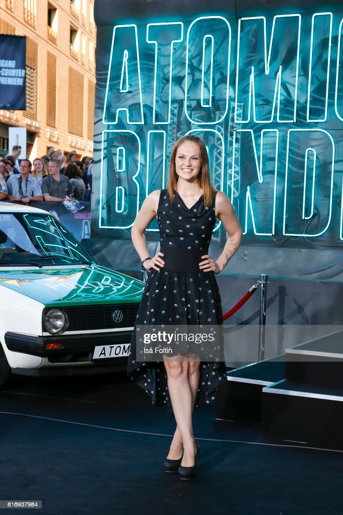 German actress Isabella Vinet attends the 'Atomic Blonde' World Premiere at Stage Theater on July 17, 2017 in Berlin, Germany.