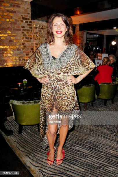 German actress Jana Pallaske during the host of Annabelle Mandengs Ladies Dinner at Hotel Zoo on July 2 2017 in Berlin Germany