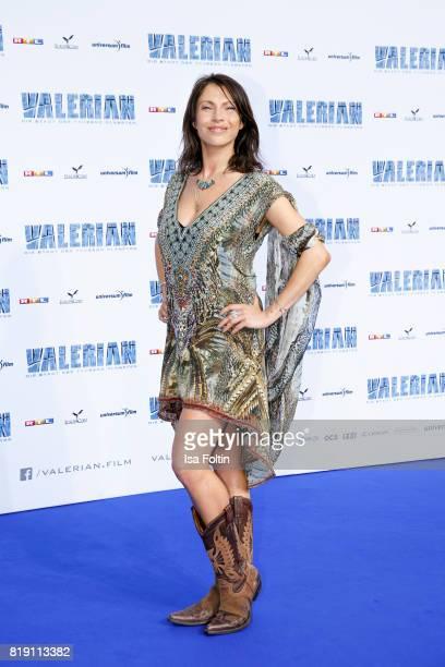 German actress Jana Pallaske during the 'Valerian Die Stadt der Tausend Planeten' premiere at CineStar on July 19 2017 in Berlin Germany