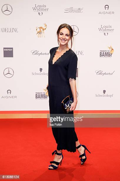 German actress Janina Uhse attends the Tribute To Bambi at Station on October 6 2016 in Berlin Germany