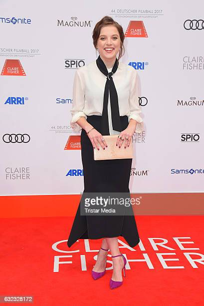 German actress Jella Haase attends the German Film Ball 2017 at Hotel Bayerischer Hof on January 21 2017 in Munich Germany