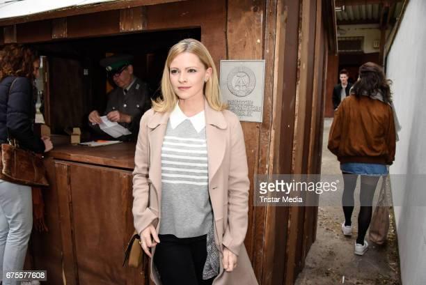 German actress Jennifer Ulrich attends the Good bye Lenin Revival Premiere on May 1 2017 in Berlin Germany