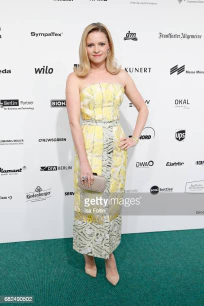 German actress Jennifer Ulrich attends the GreenTec Awards at ewerk on May 12 2017 in Berlin Germany